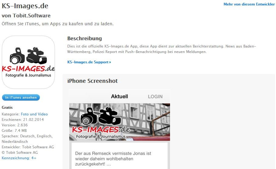 Ks-Images.de Iphone App